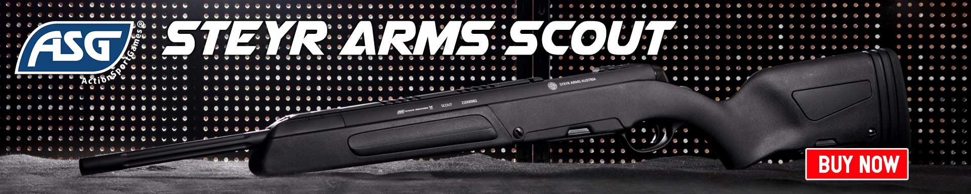 STEYR ARMS SCOUT AIRSOFT SNIPER RIFLE