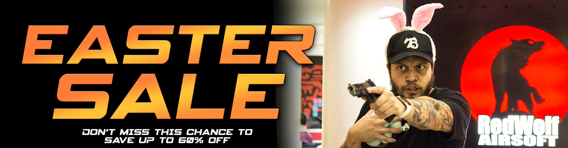 AIRSOFT EASTER SALE