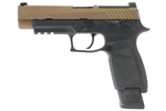 RWC SIG AIR P320 M17 6MM GBB PISTOL (CERAKOTE BURNT BRONZE SLIDE & BLACK FRAME)