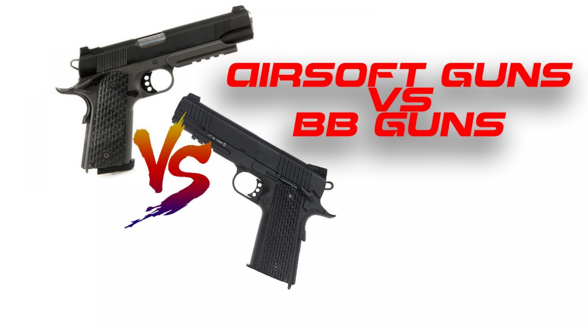 Airsoft Guns vs. BB Guns: The Difference Explained