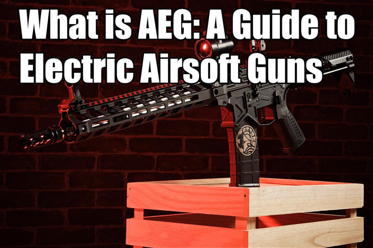 What is AEG: A Guide to Electric Airsoft Guns
