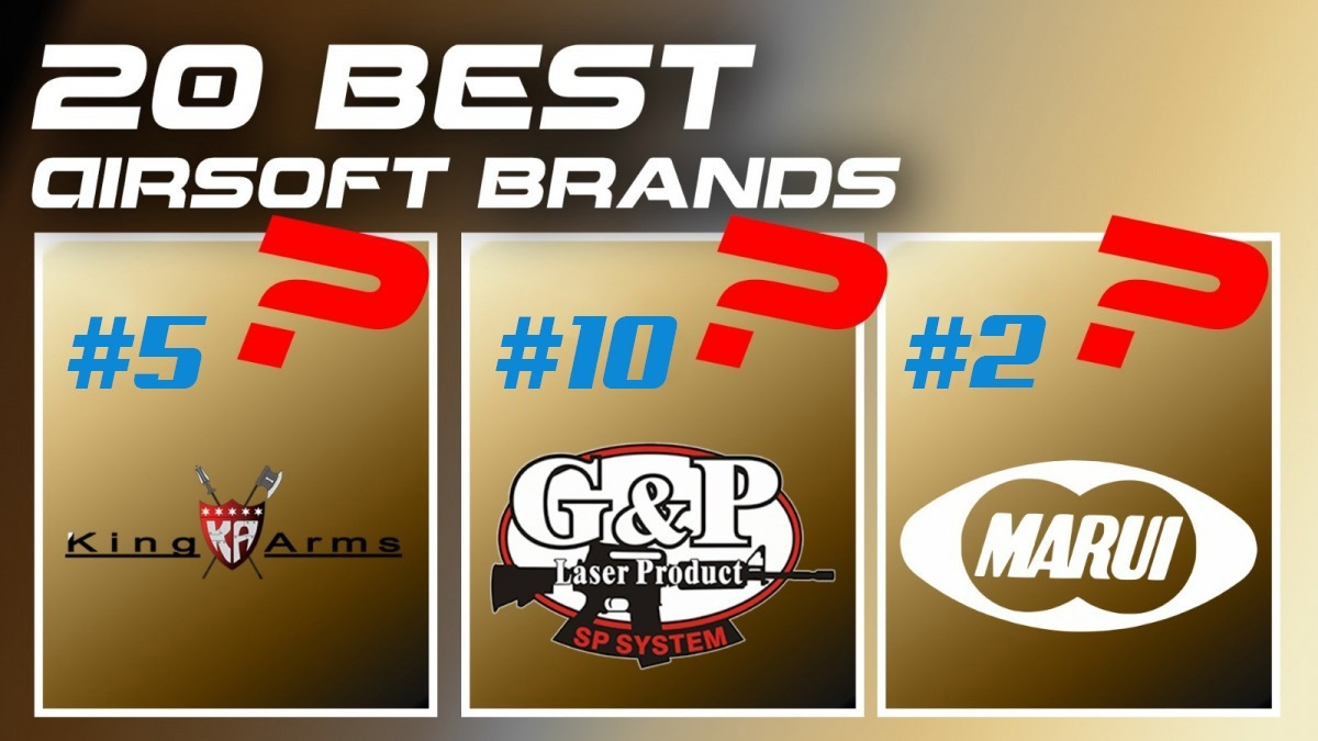 20 Best Airsoft Brands: 2021 Ultimate Guide | RedWolf