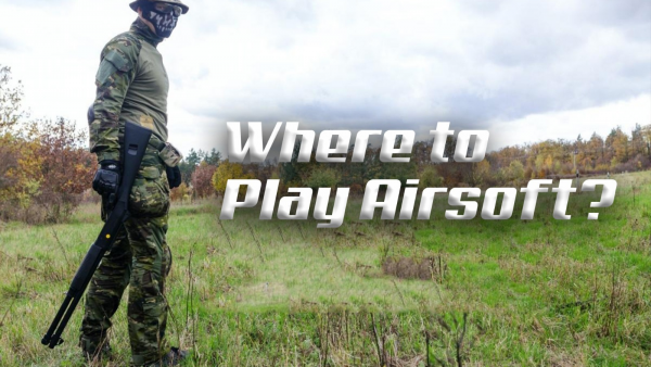 Where Can I Play Airsoft? Ultimate Guide | RedWolf Airsoft